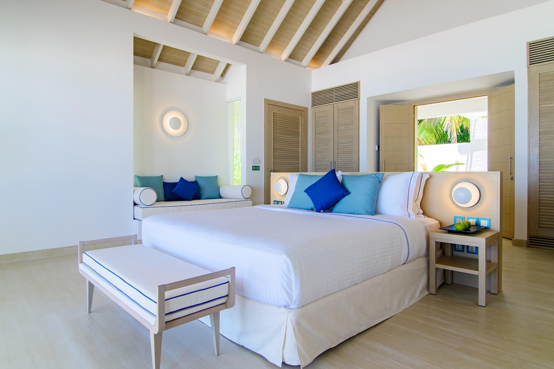 Resort Maldive Baglioni Resort beach villa