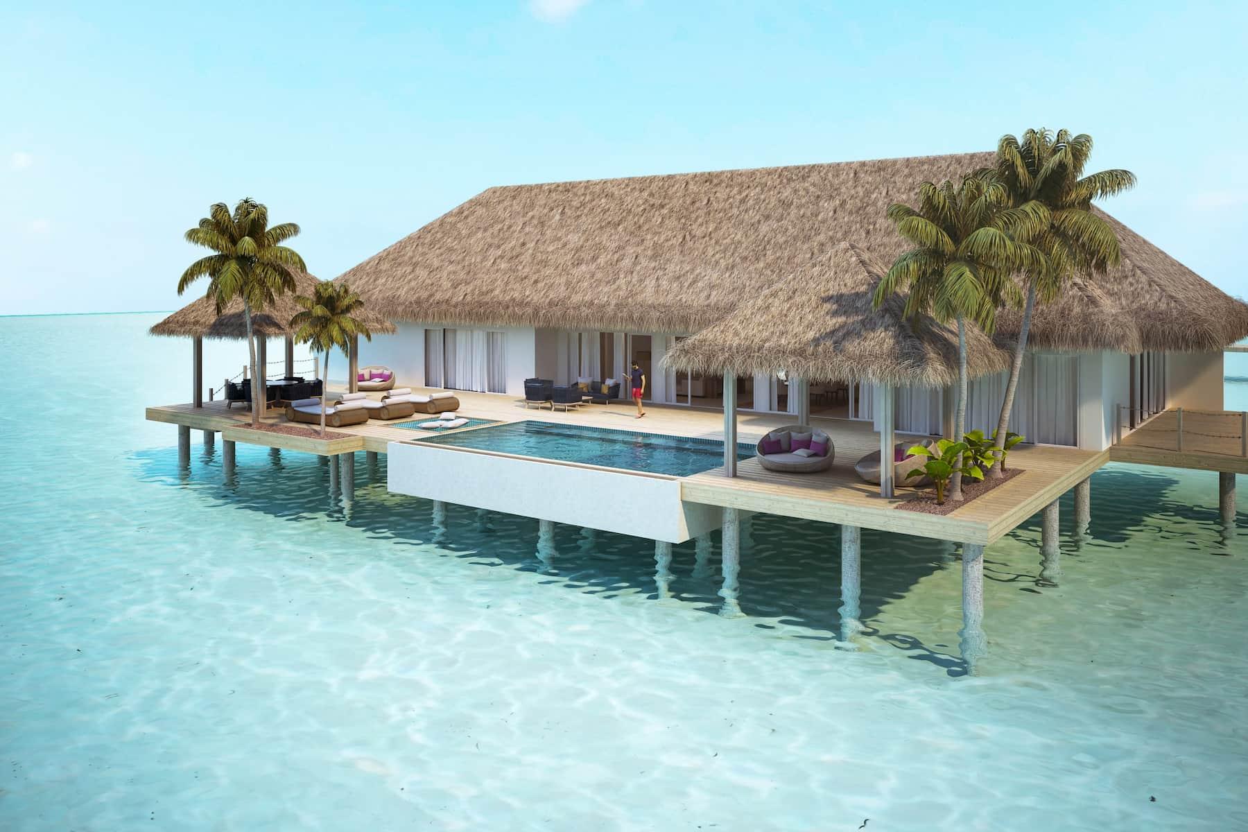 Resort Maldive Baglioni Resort Presidential Water Villa