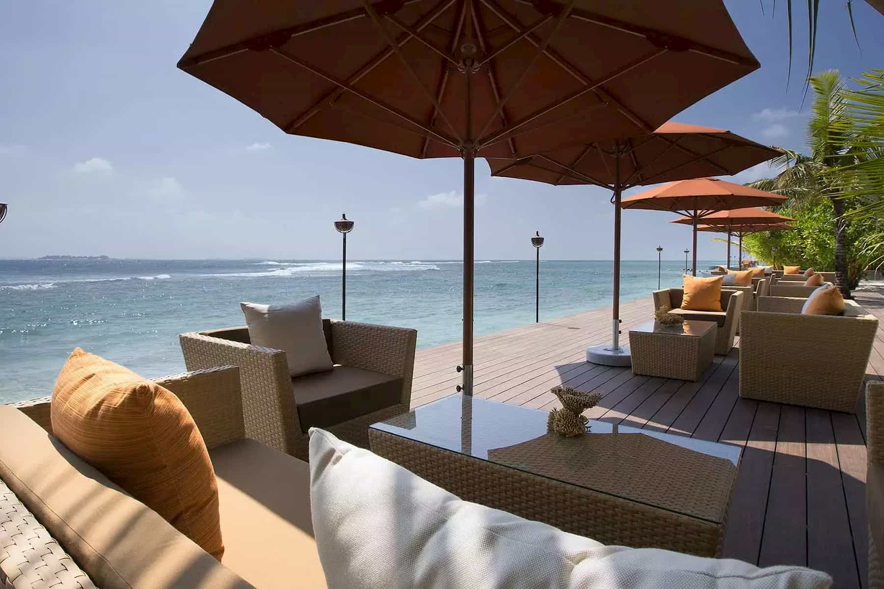 Anantara Dhigu resort Maldive 73 Degrees cucina internazionale