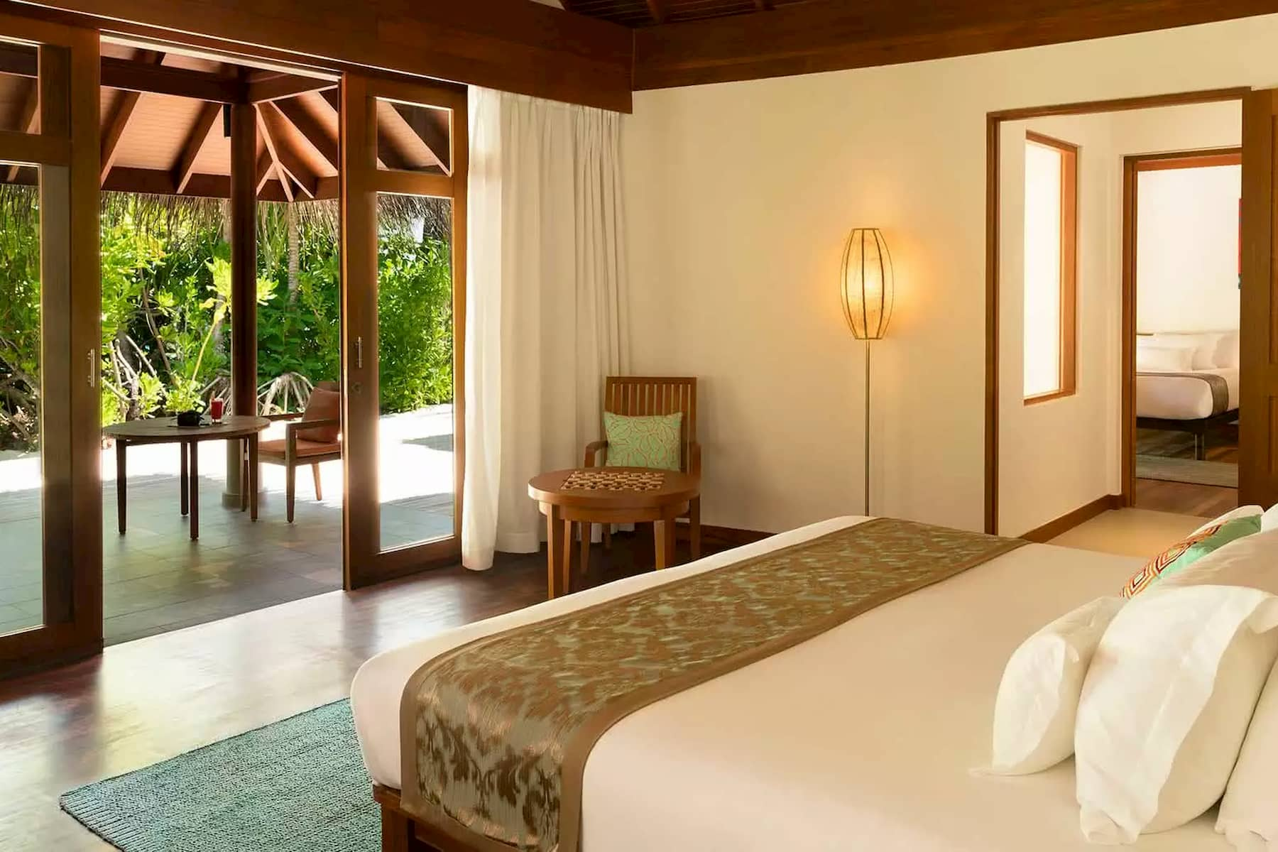 Anantara Dhigu resort Maldive two bedroom family villa