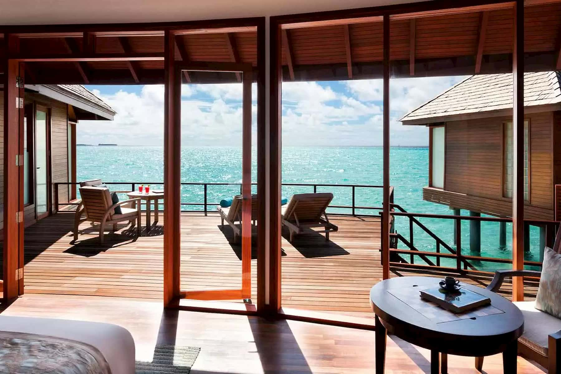 Anantara Dhigu resort Maldive overwater villa