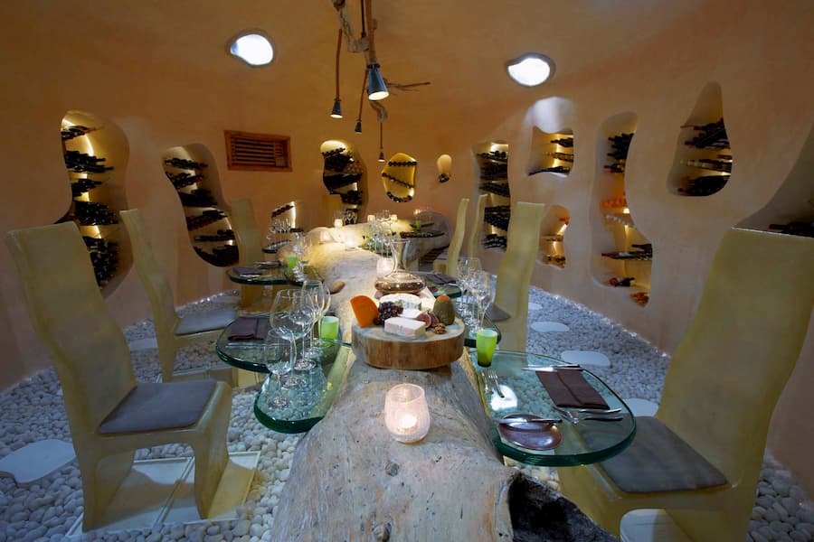 Resort Maldive Gili Lankanfushi wine cellar