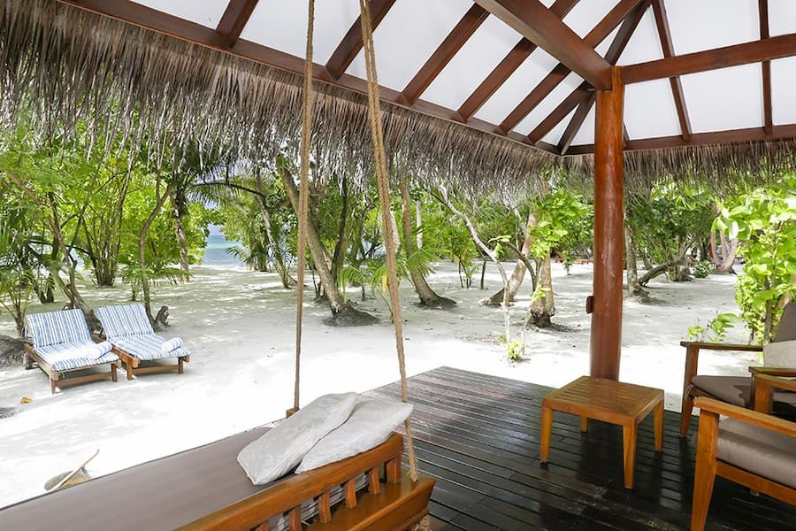 Resort Maldive Medhufushi Island Resort villa suite