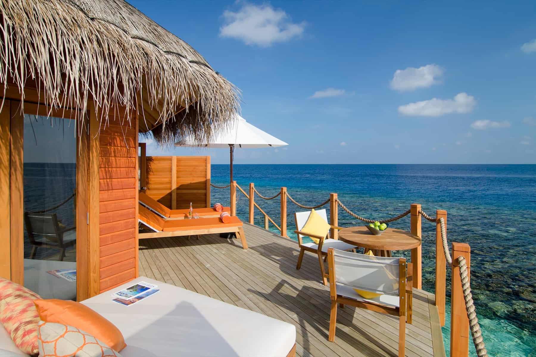 Resort Maldive Mirihi Island Resort water villa