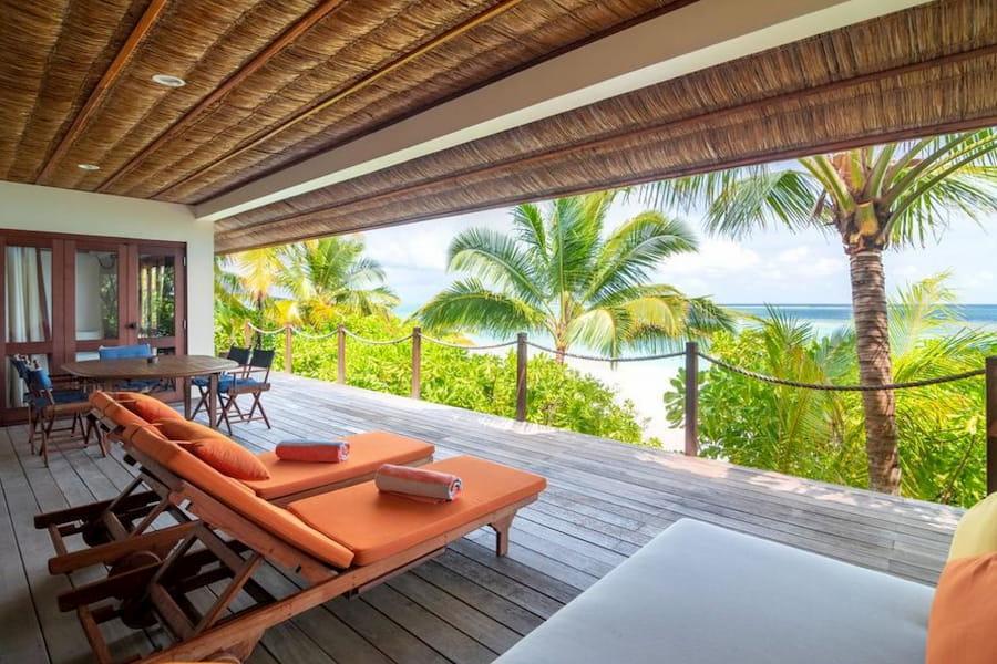 Resort Maldive Mirihi Island Resort beach suite