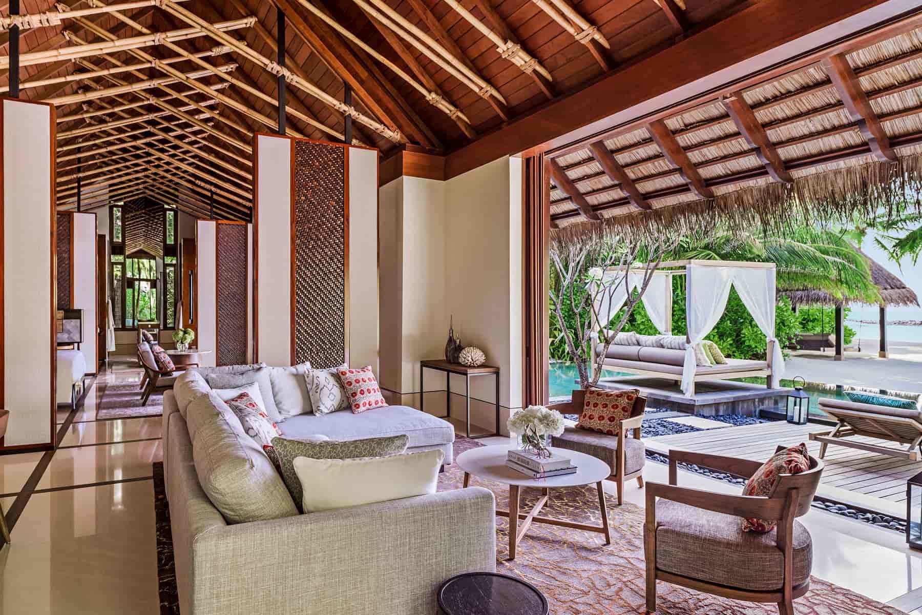 Resort Maldive One & Only Reehi Rah grand beach villa with pool