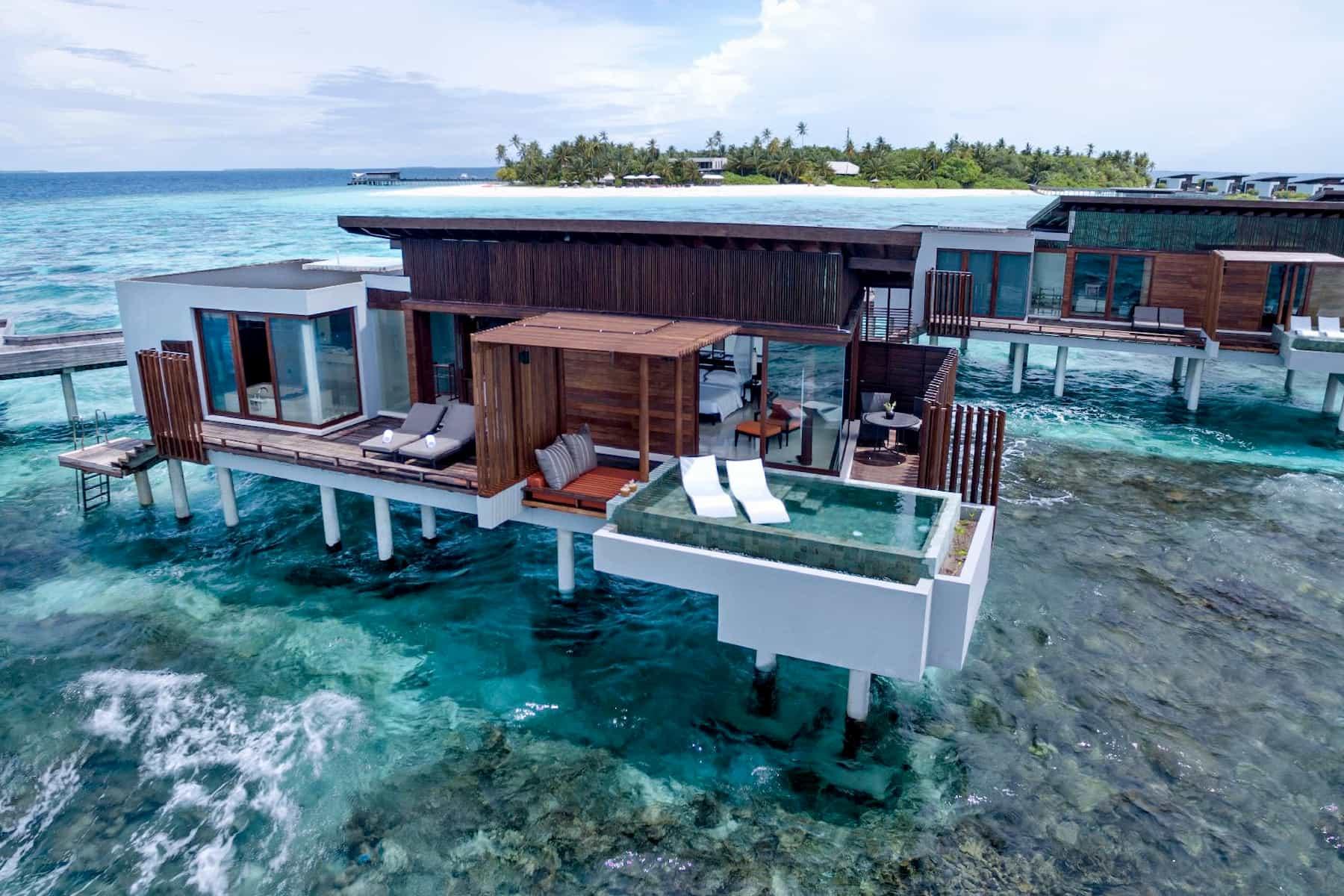 Resort Maldive Park Hyatt Maldives Hadahaa park sunset ocean pool villa