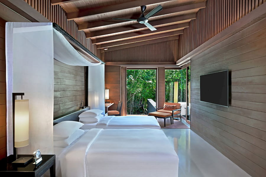 Resort Maldive Park Hyatt Maldives Hadahaa two bedroom park pool villa