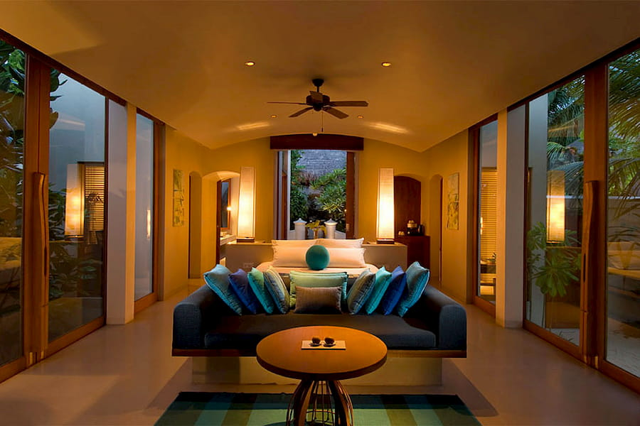 Migliori Resort Maldive Conrad Maldives deluxe beach villa