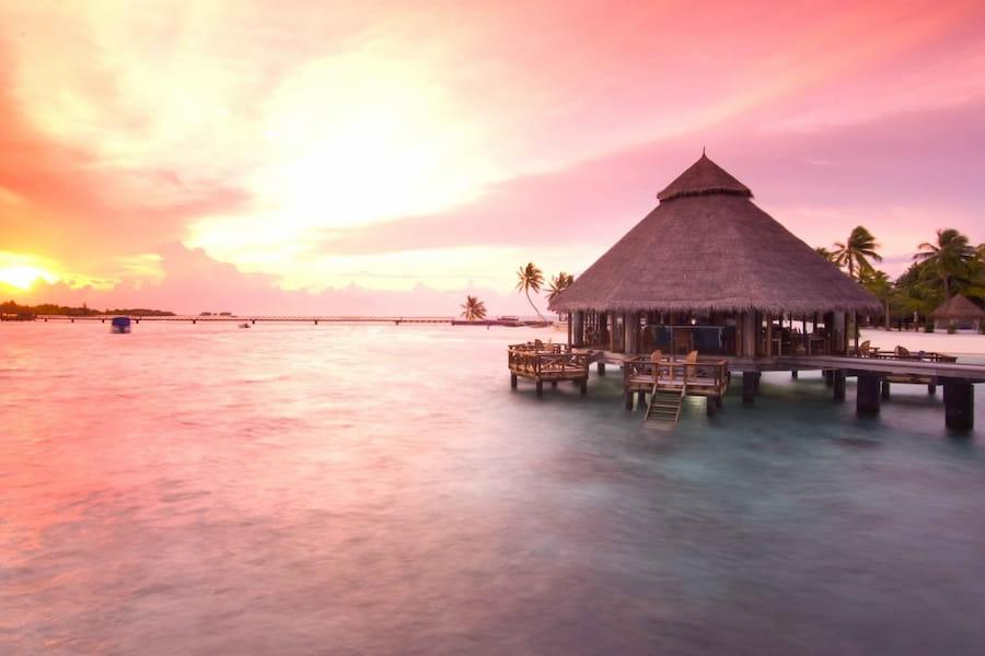 Resort Maldive Conrad Maldives Sunset grill