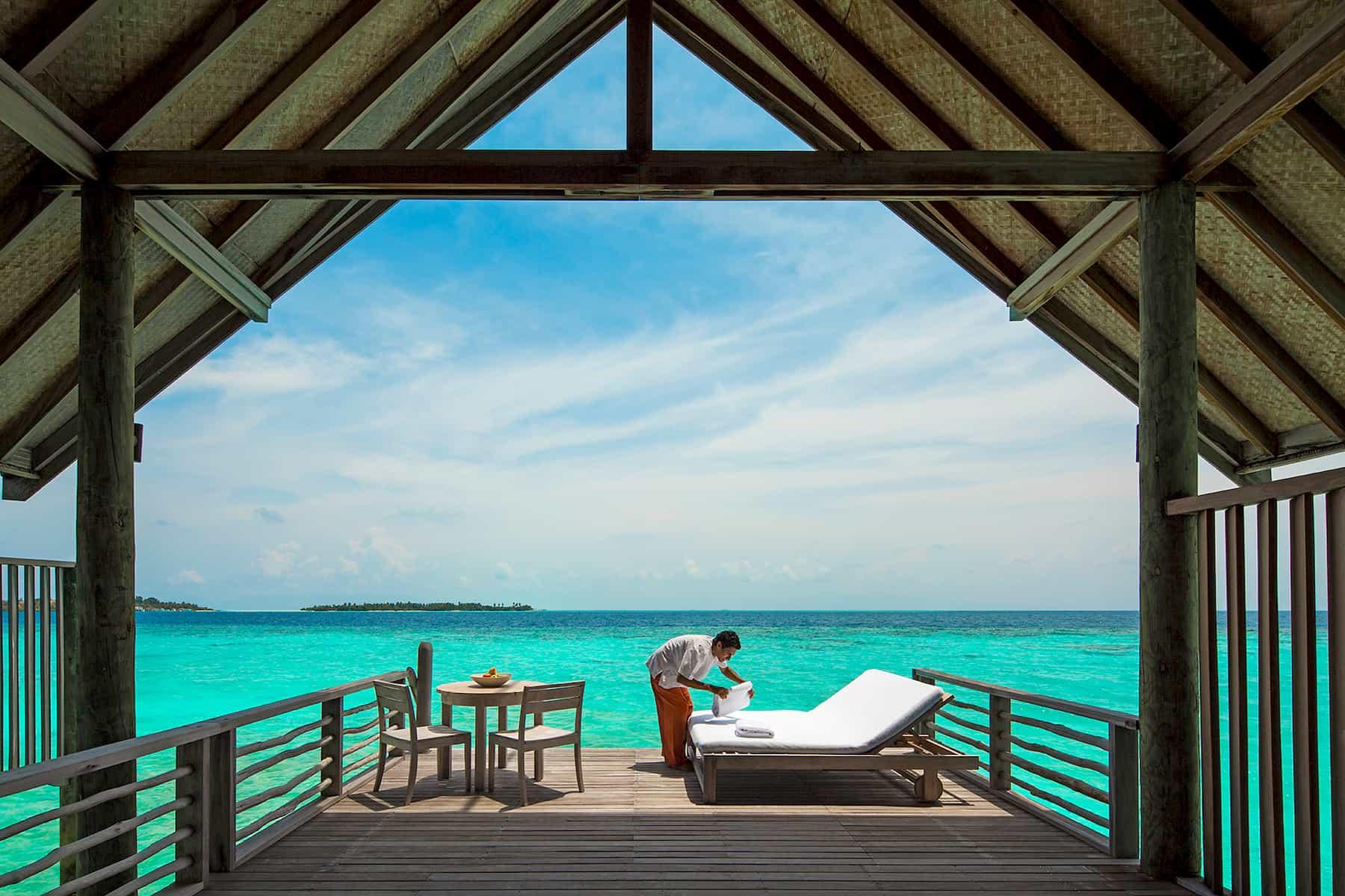 Resort Maldive Cocoa Island resort Maldive loft villa