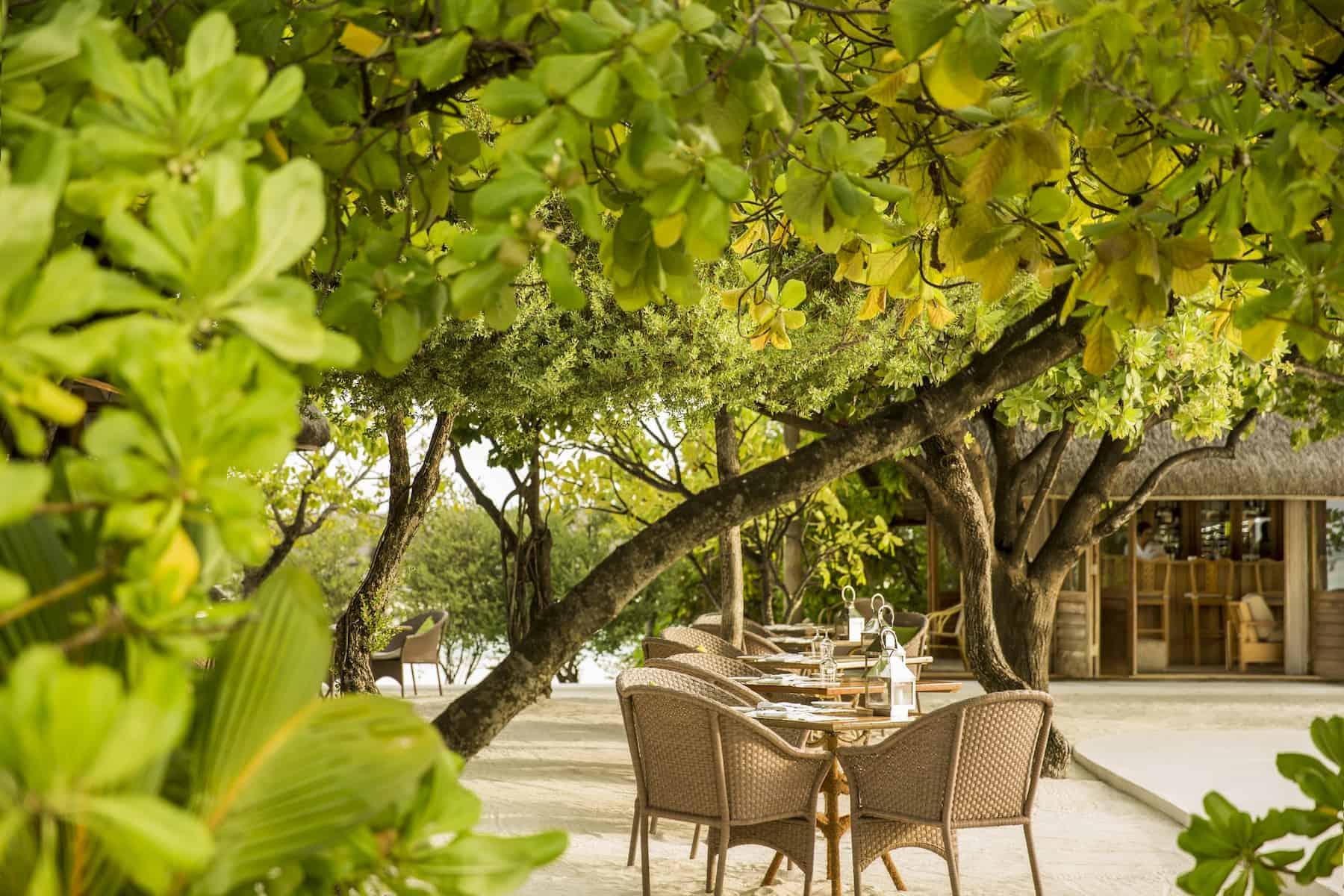 Resort Maldive Cocoa Island ristorante Ufaa