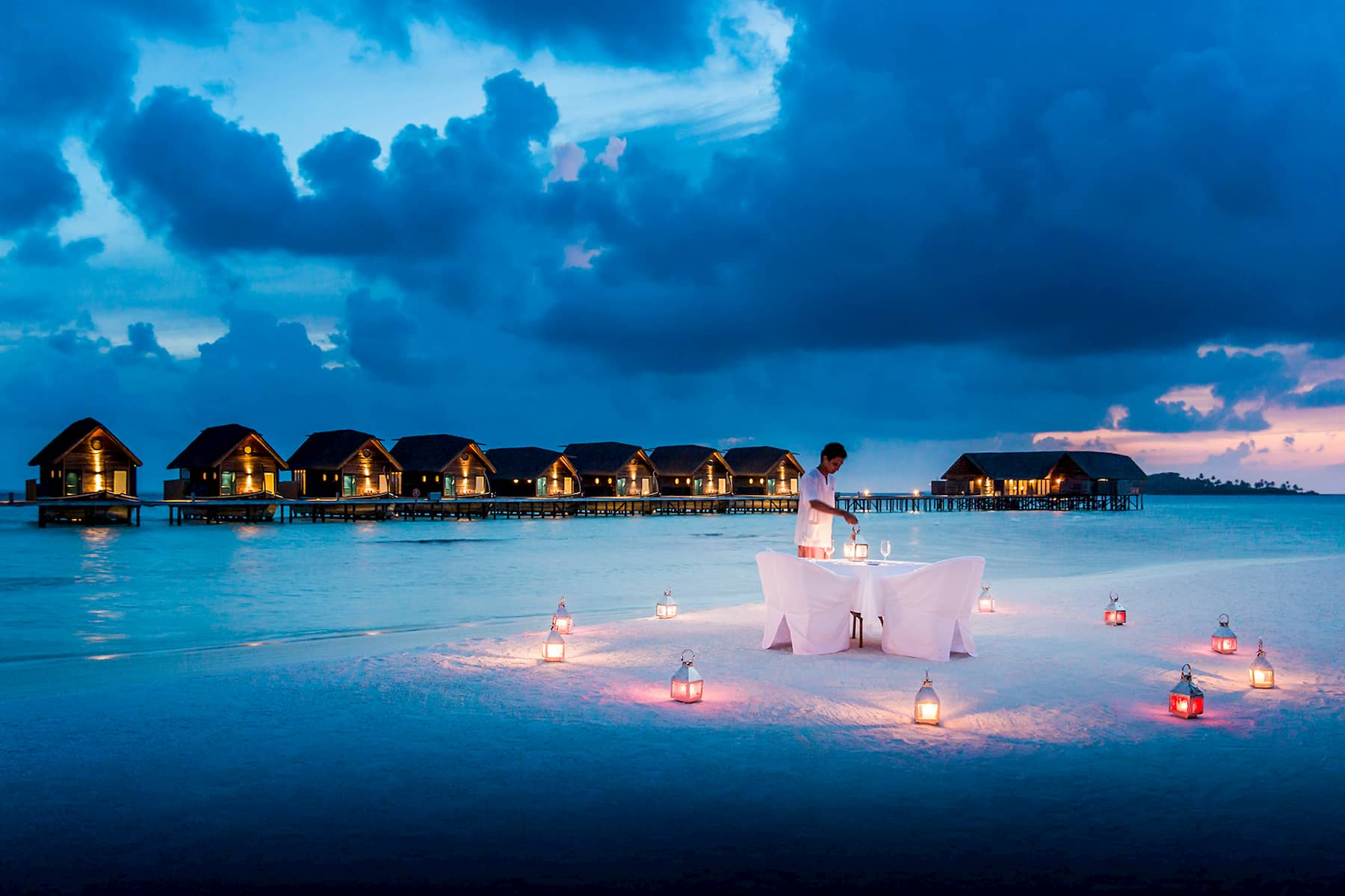 Resort Maldive Cocoa Island beach cena privata