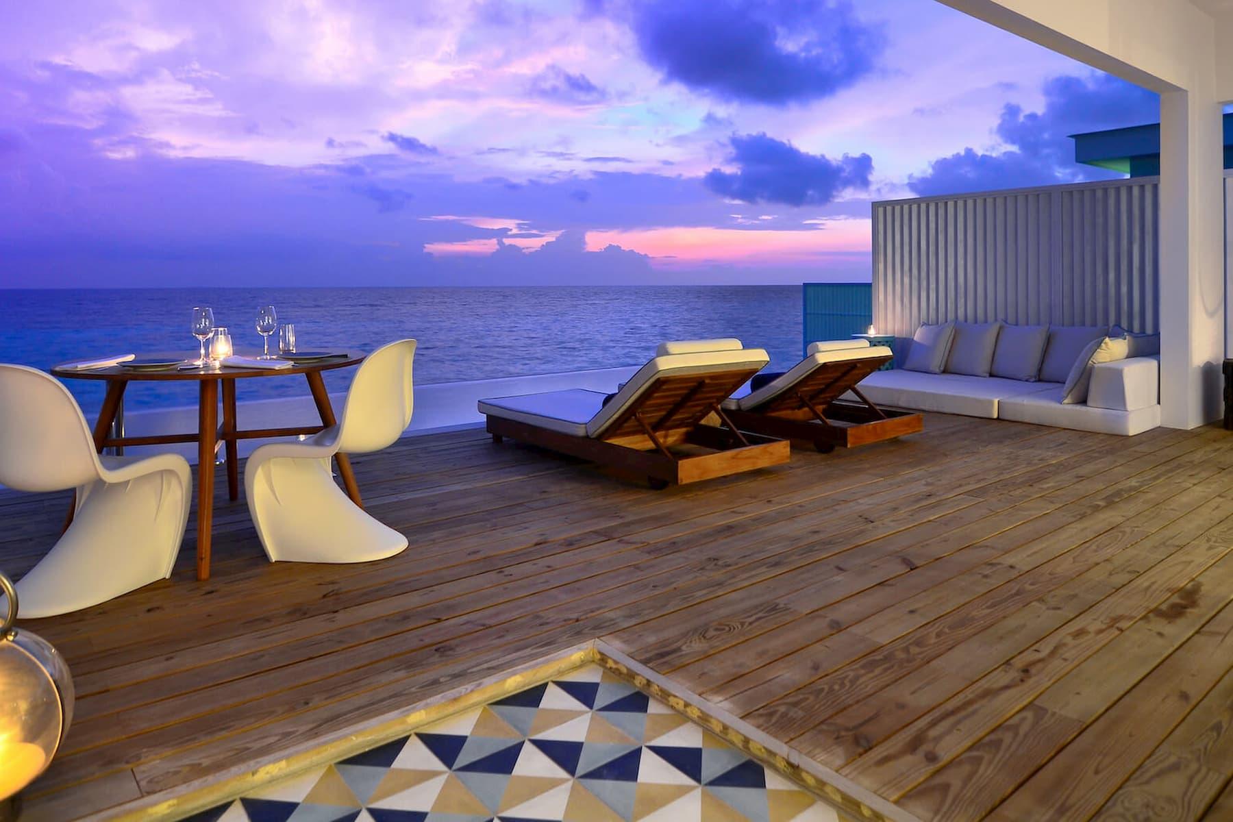 Amilla Fushi resort maldive lagoon house
