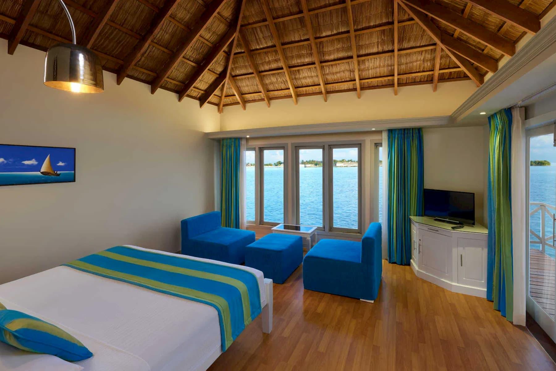Resort Maldive Cinnamon Dhonveli water bungalow