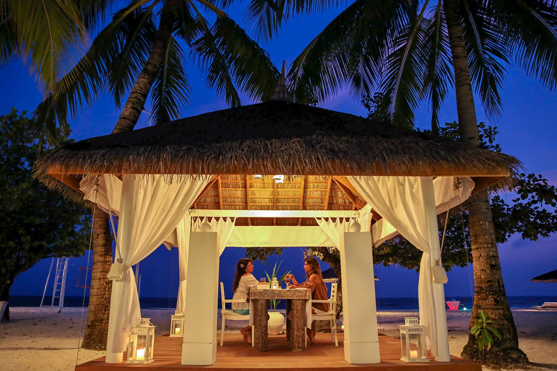 Resort Maldive Diamonds Athuruga ristorante Farivalhu