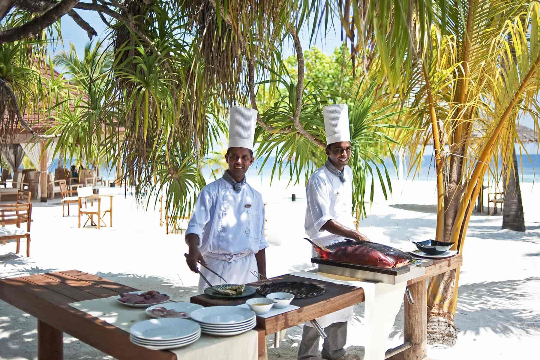 Resort Maldive Diamonds Athuruga ristorante Kakuni Sea Food