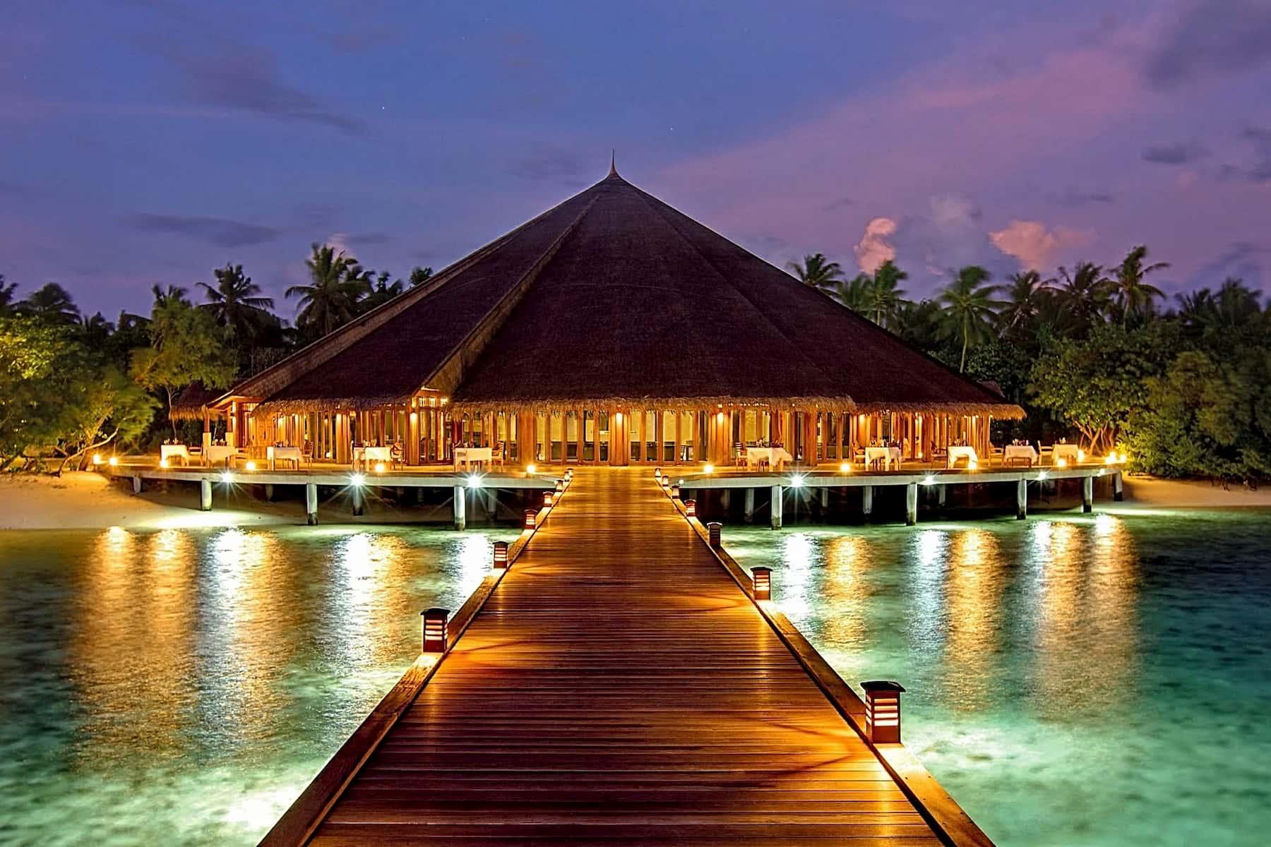 Resort Maldive Hideway Beach Resort & Spa ristorante Matheefaru