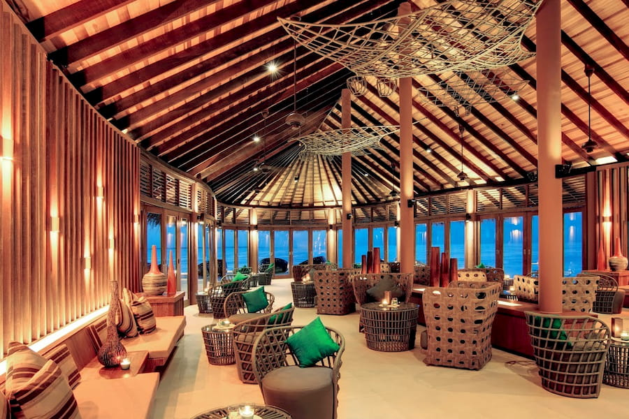 Resort Maldive Hideway Beach Resort & Spa ristorante Meruu