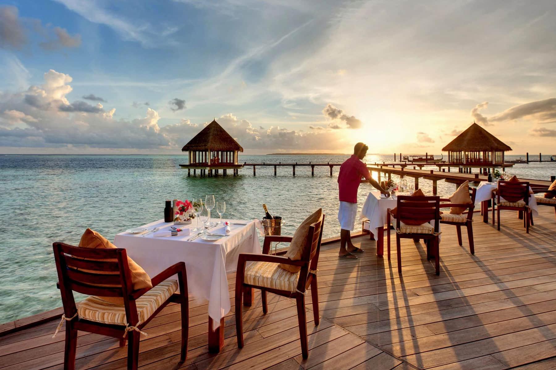 Resort Maldive Hideway Beach Resort & Spa ristorante Samsara Asia