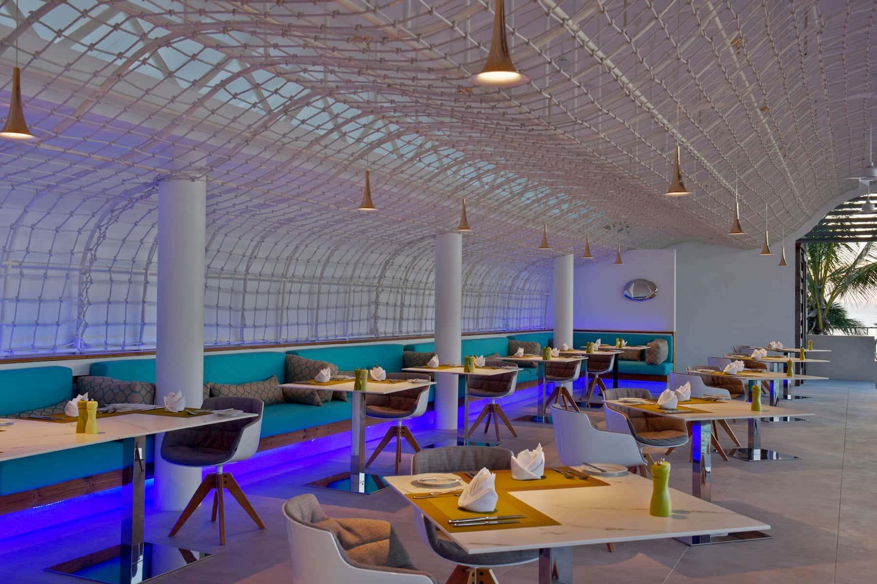 Resort Maldive Kuramathi Island resort ristorante Inguru