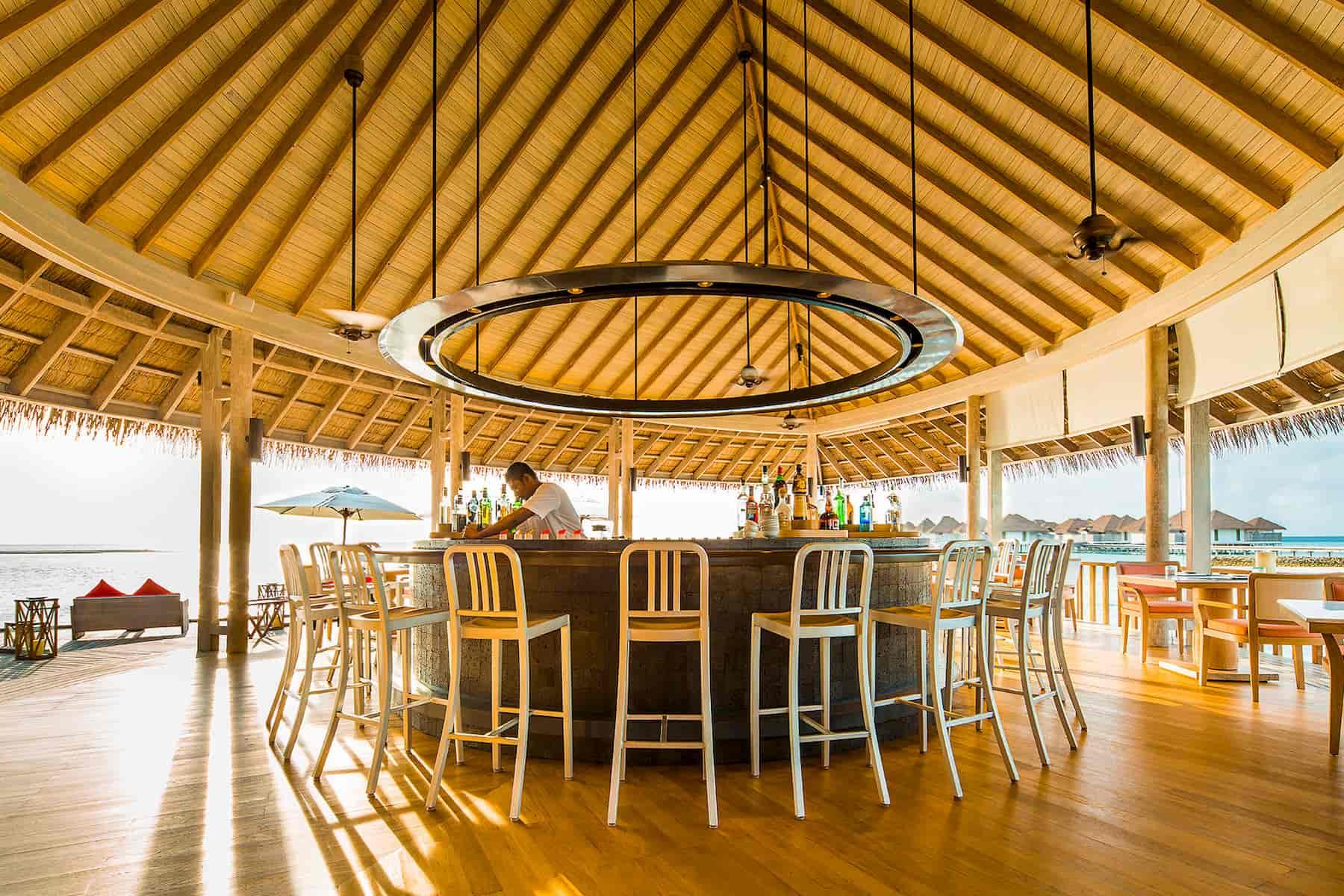 Resort Maldive Como Maalifushi ristorante Tai