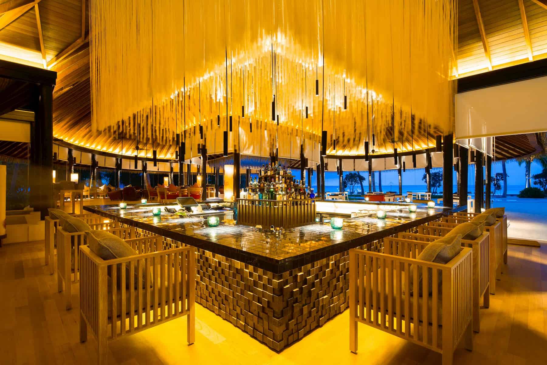 Resort Maldive Como Maalifushi ristorante Thila