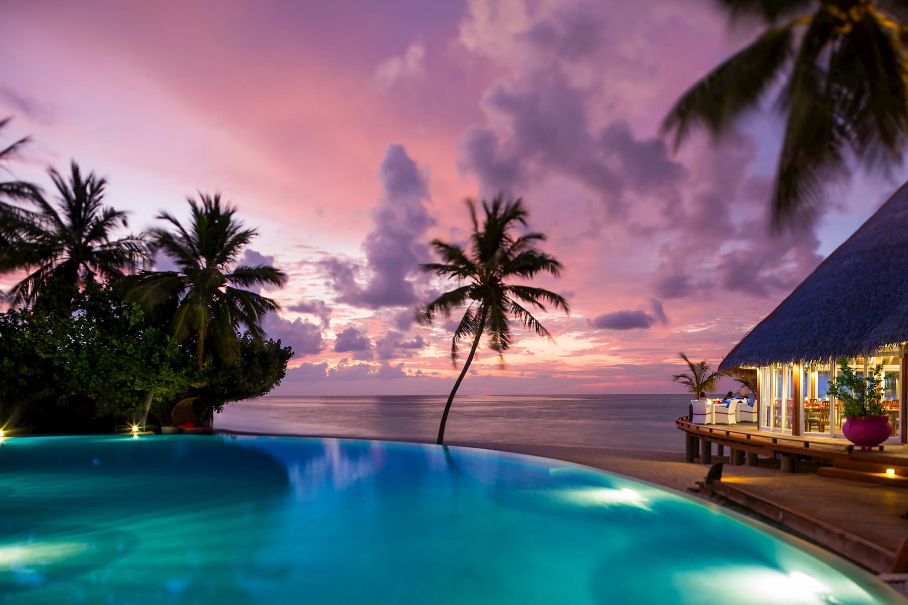 Resort Maldive Sun Aqua Vilu Reef ristorante positive energy
