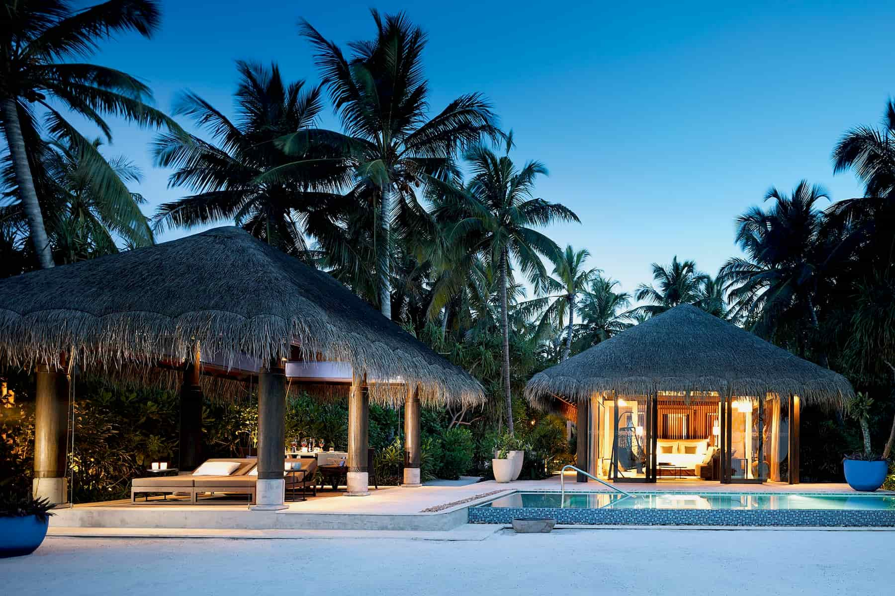 Resort Maldive Velaa Private Island beach pool villa