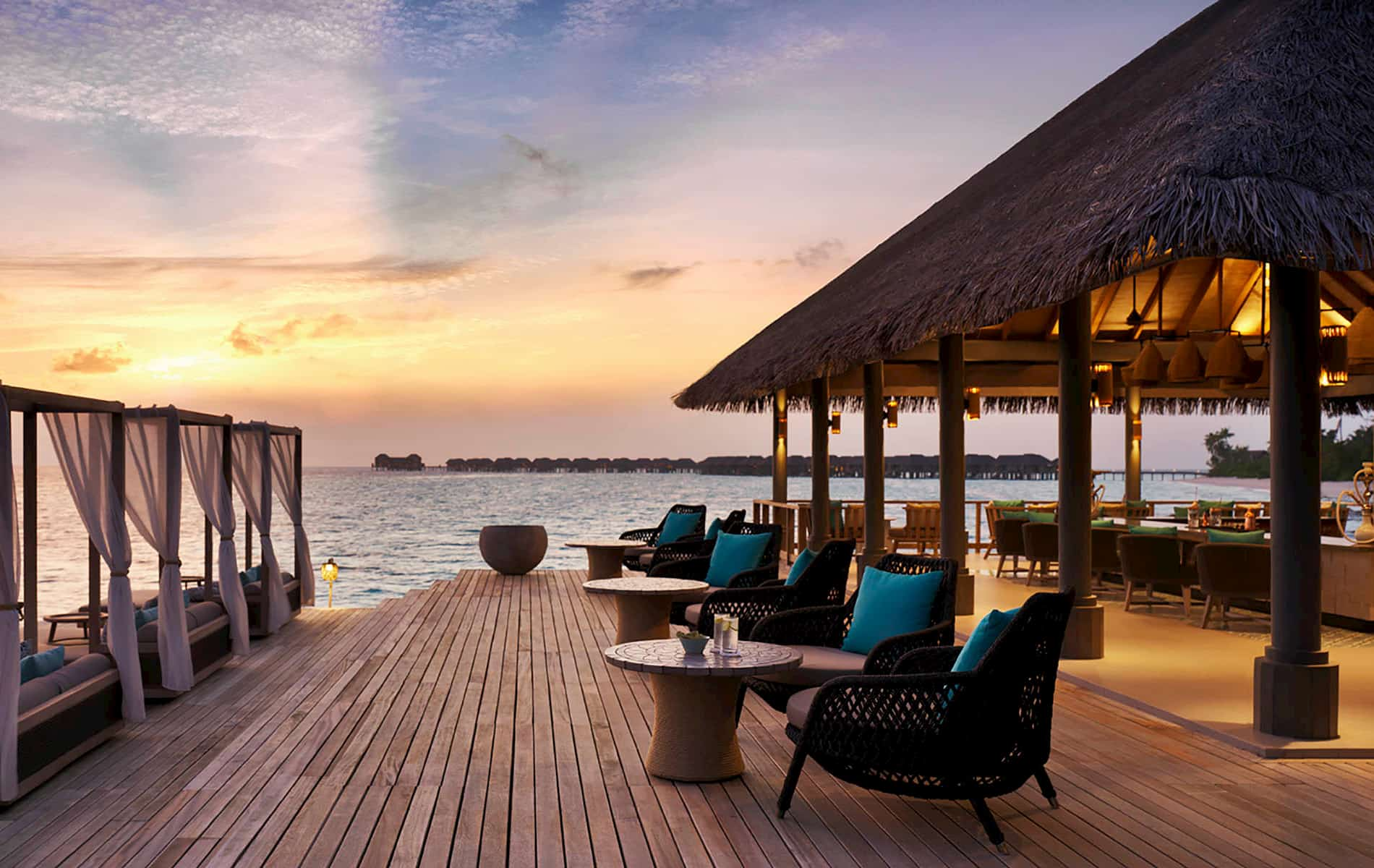 Resort Maldive Vakkaru Bar Lagoon