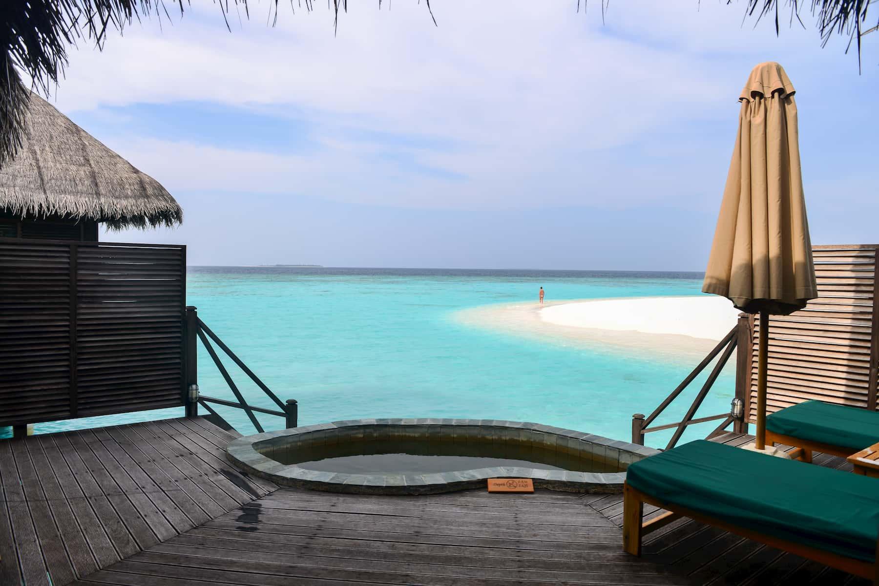 Coco Palm Dhuni Kolhu resort Maldive lagoon villa