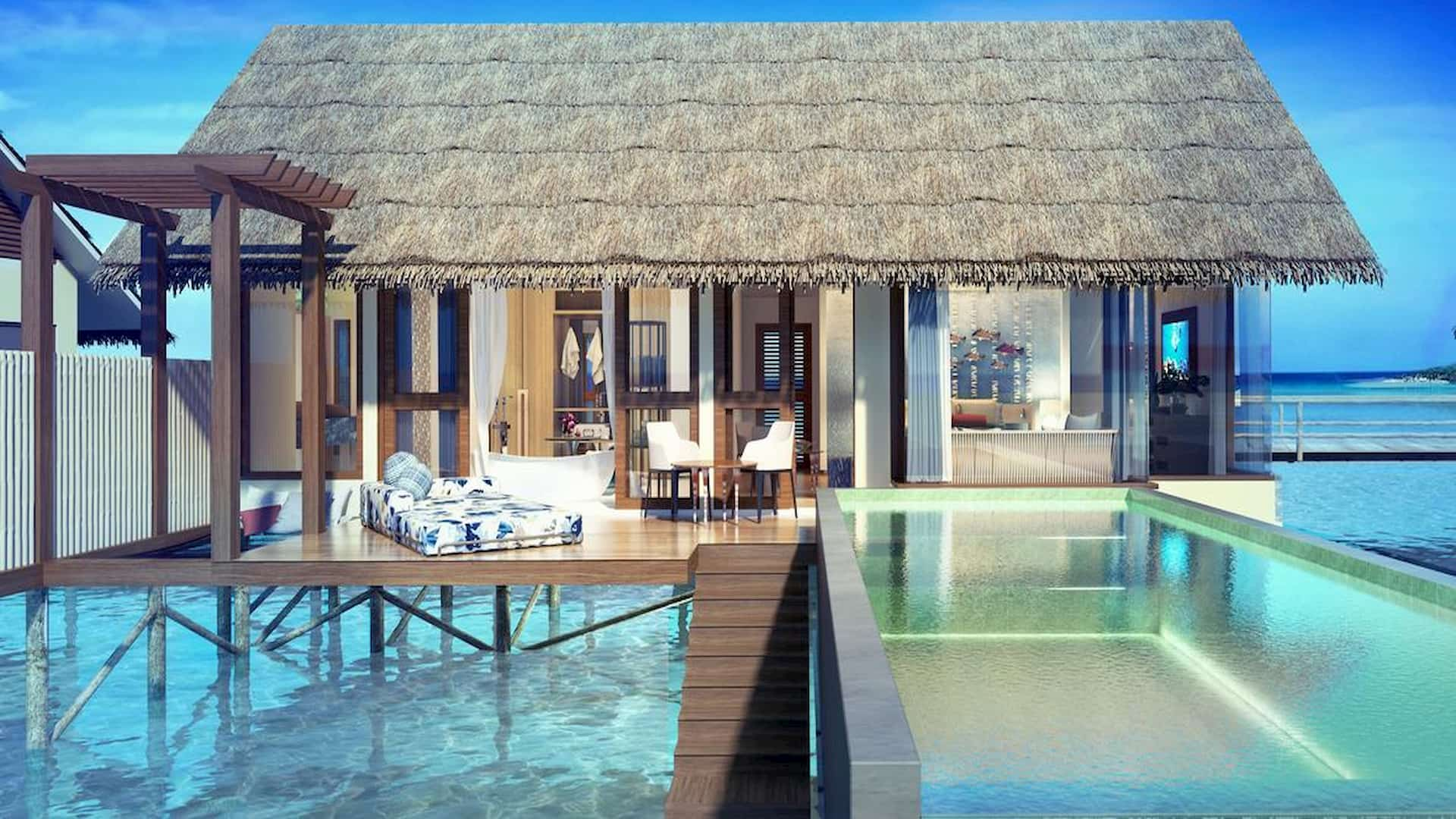 Resort Maldive Ozen by Atmosphere Water Villas with Pool