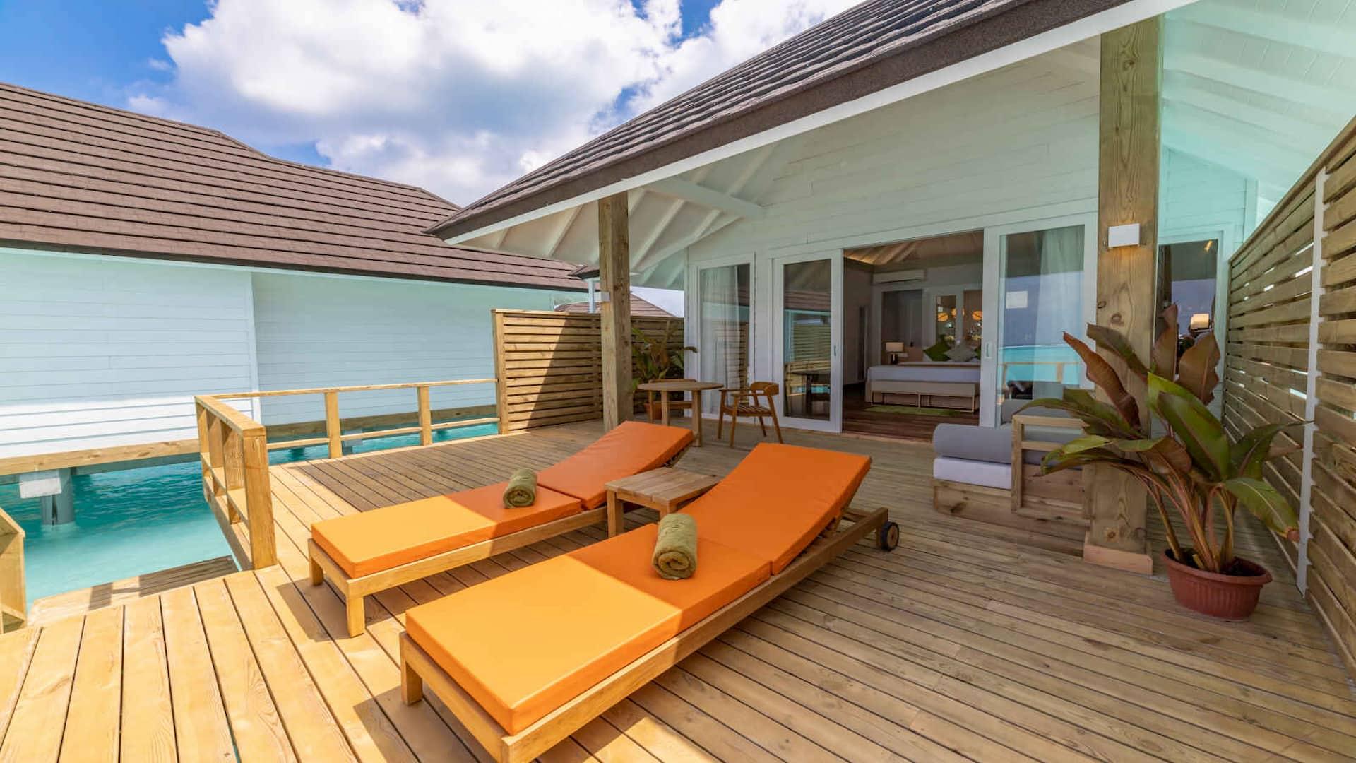 Resort Maldive Olhuveli Beach & Spa Water villa
