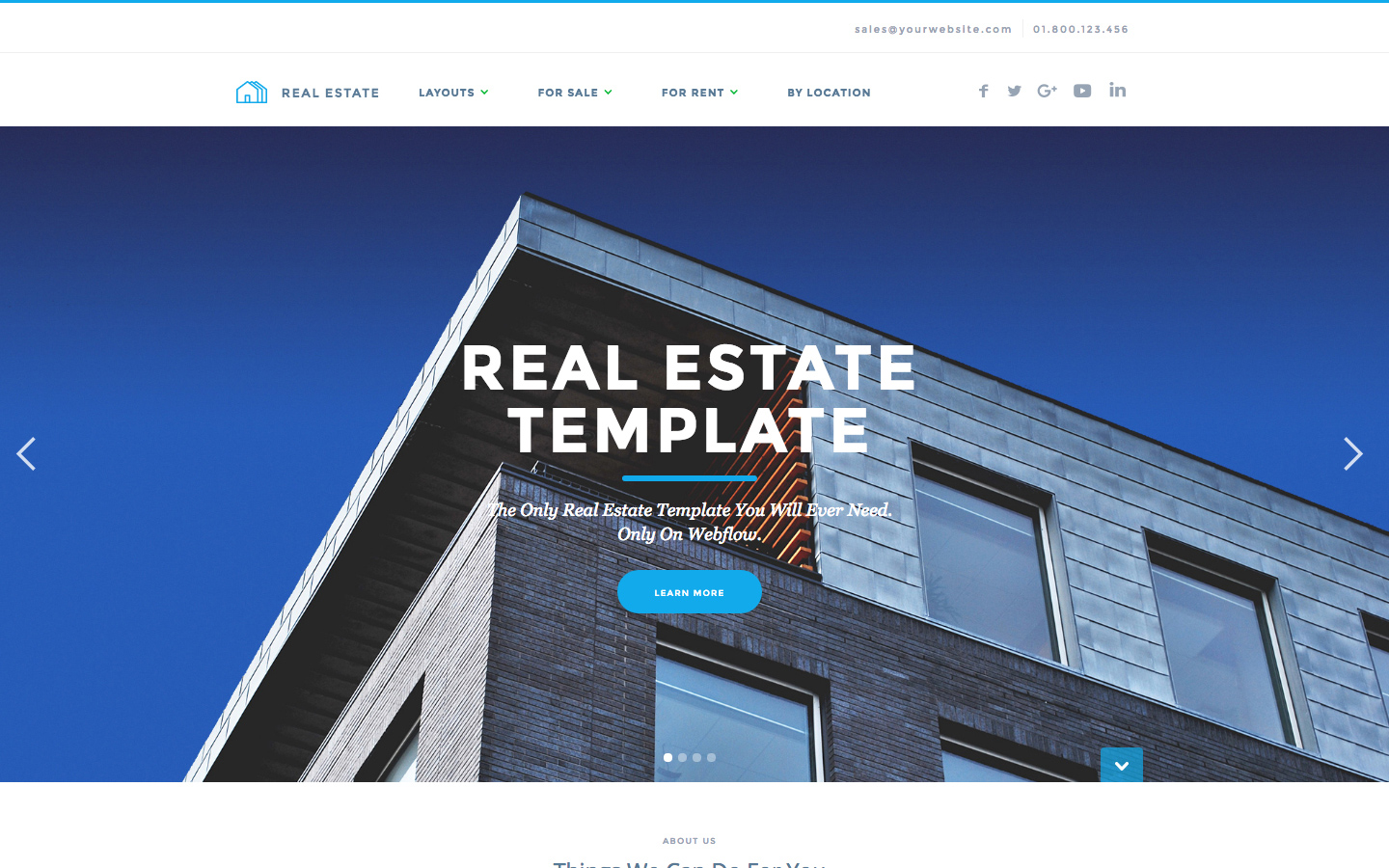 Realtor Real Estate Html5 Responsive Website Template