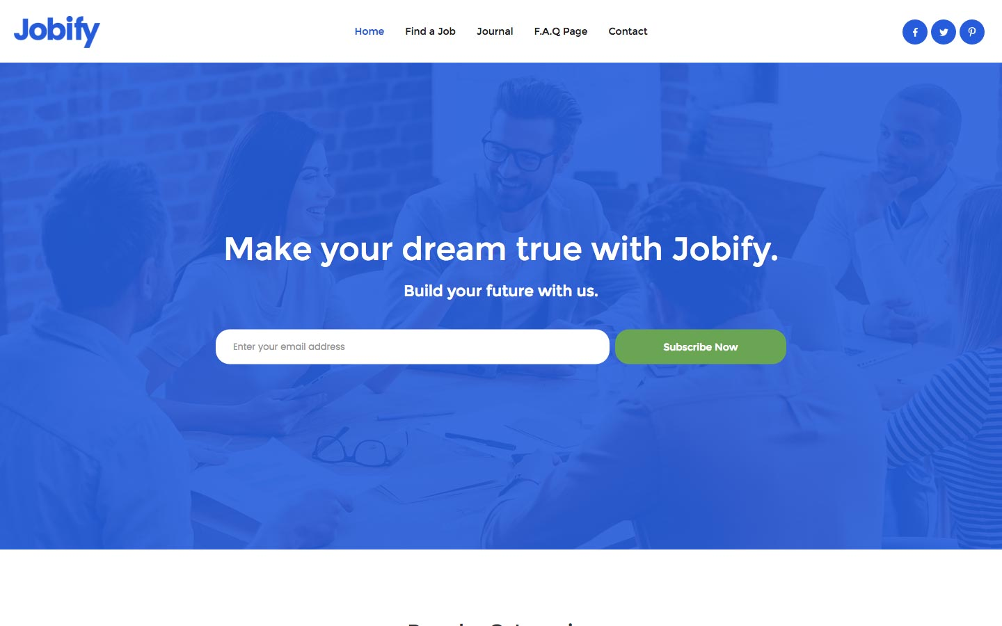 Job Portal Website Templates Available at Webflow