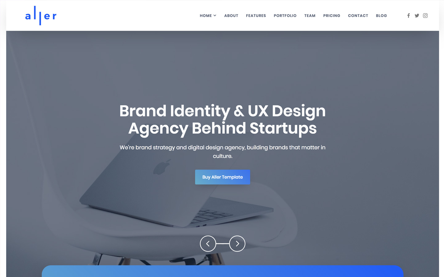 Agency Website Templates Available at Webflow