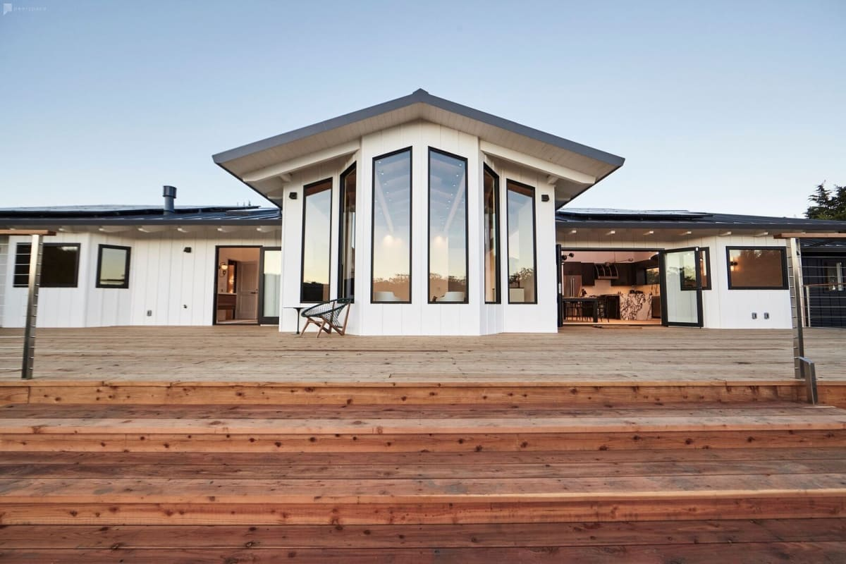 Corrugated Home in Point Reyes