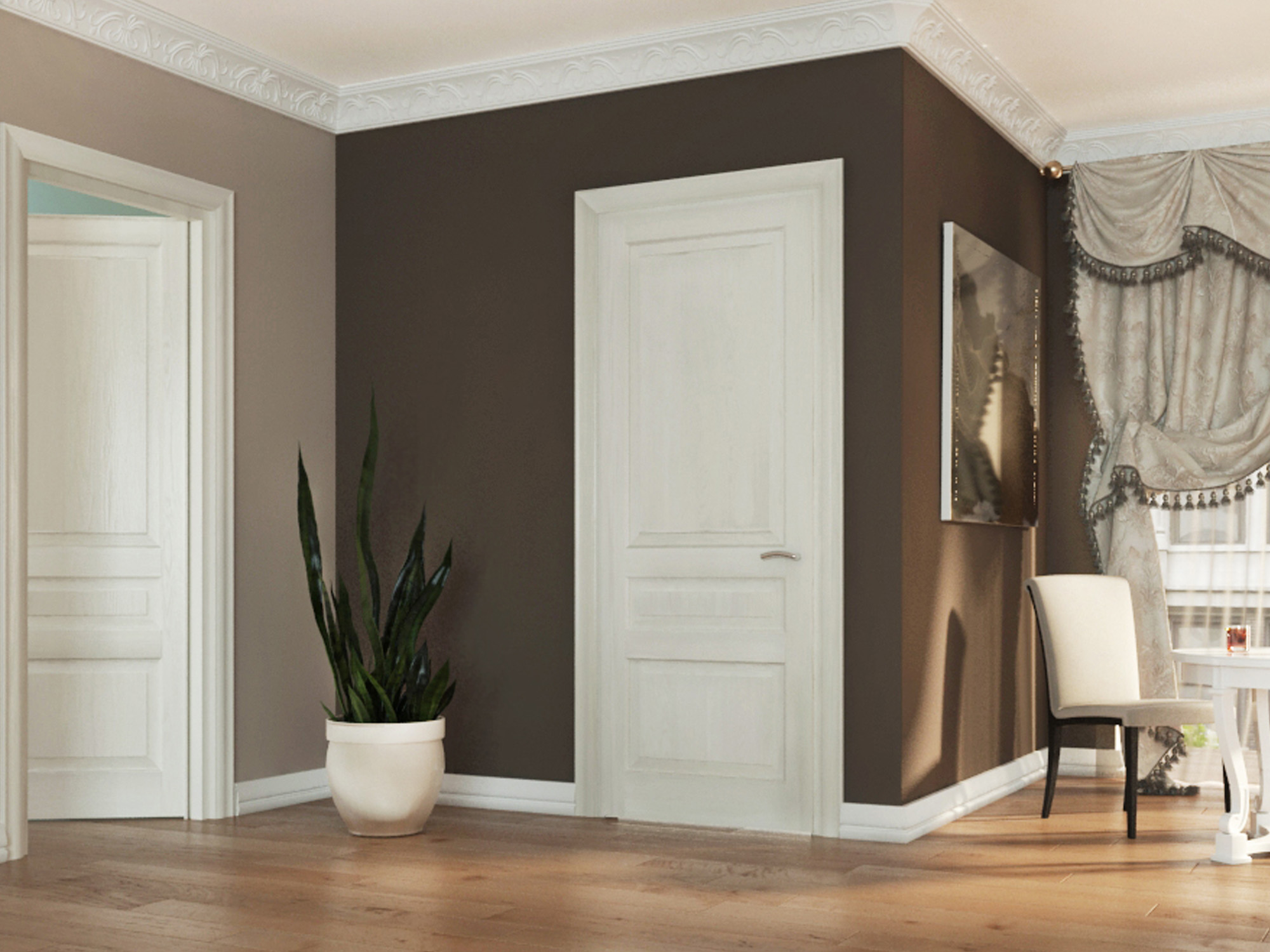 HAYLING White Ash with panel options