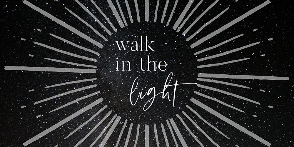 walk in the light series art