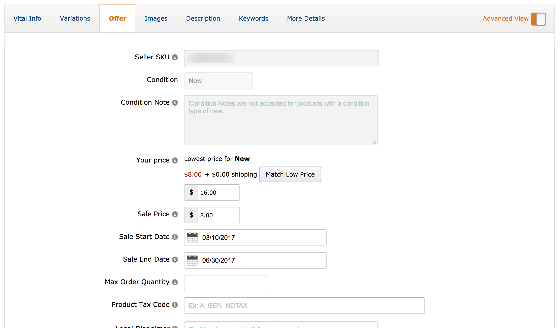 How to create a promotion on Amazon | Just One Dime Blog
