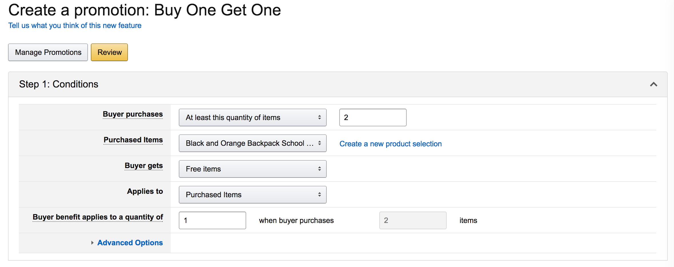 How to create a promotion on Amazon   Just One Dime Blog