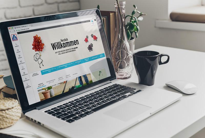 Neue ALDI-Nord.de – Modern, kundenzentriert, optimiert