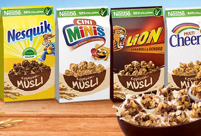 Großes Potenzial: Neue Kampagne für die Nestlé Cerealien Knusper-Müslis von McCann Worldgroup