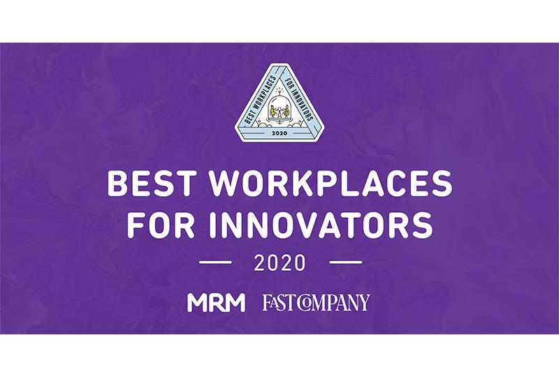 MRM zu den 100 weltweit innovativsten Workplaces gewählt