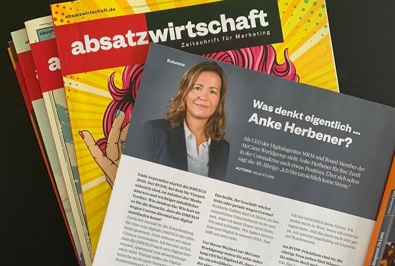 Was denkt eigentlich ... Anke Herbener?