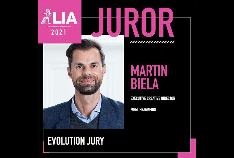 Martin ist Juror bei der LIA 2021 Awards