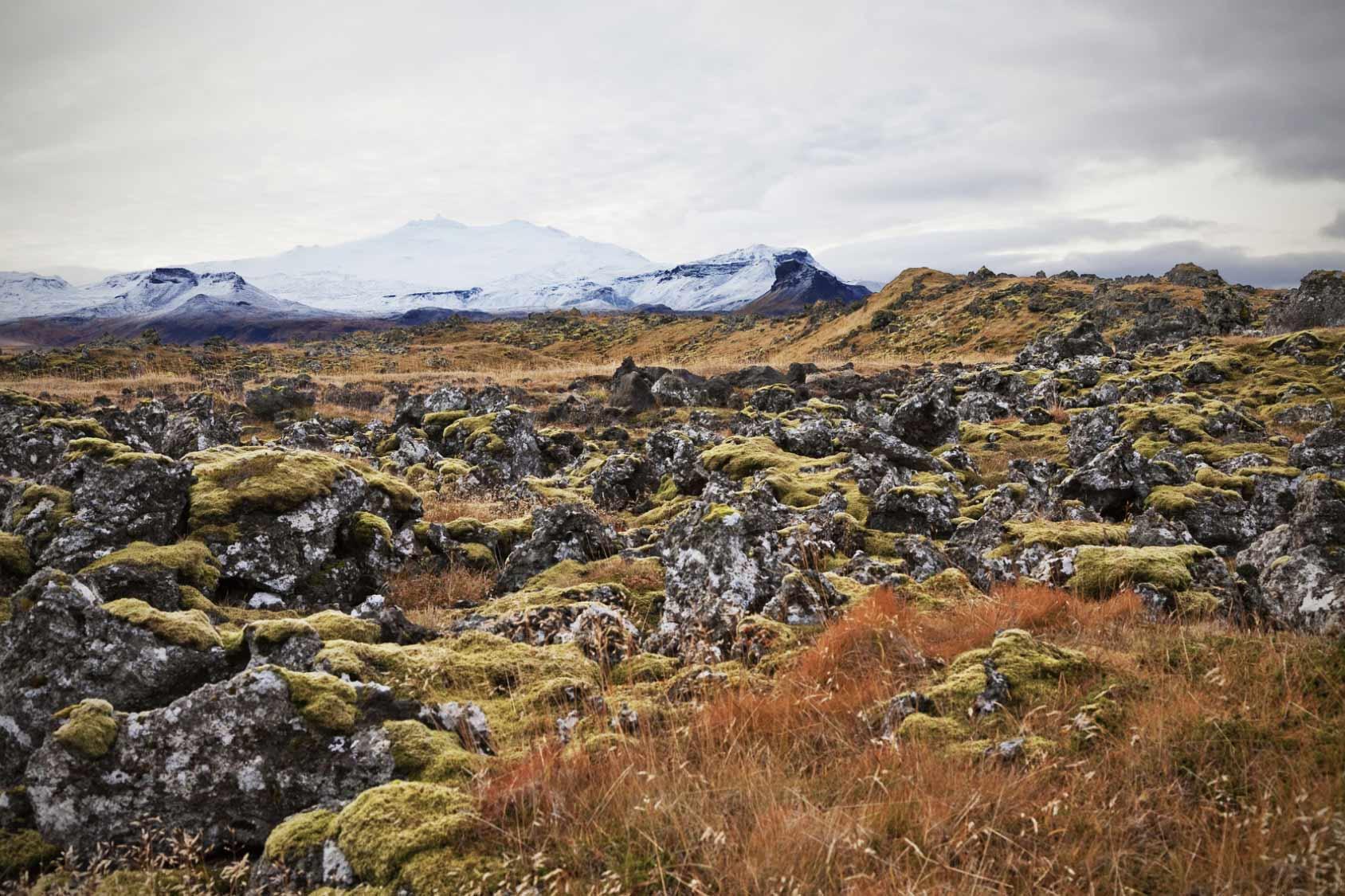 Snæfellsjökull Lavafields