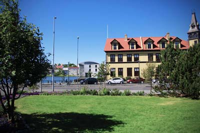 Lækjargata street