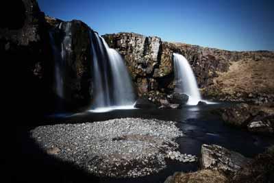Waterfall in Snæfellsnes