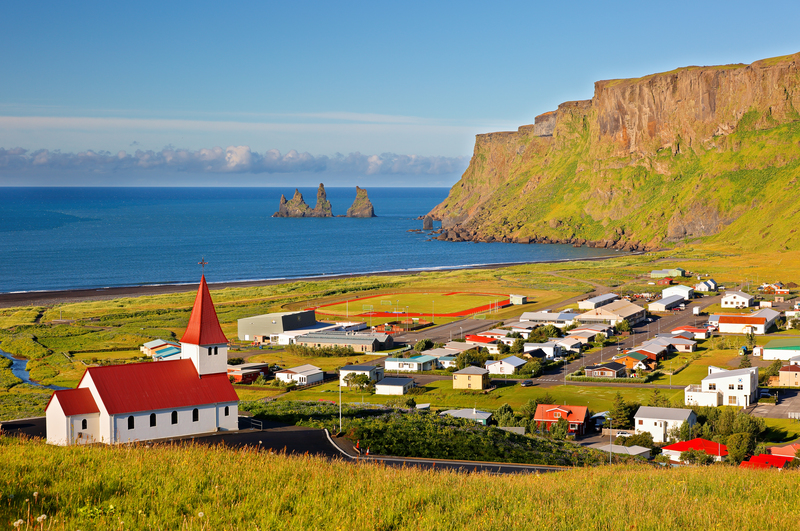 Vík in the south
